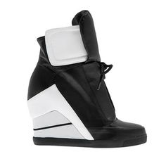 A/W 2014-15 #sneakers #shoes #Fred #dedicated #collection #outfit #fashion #style #black&white #black #white