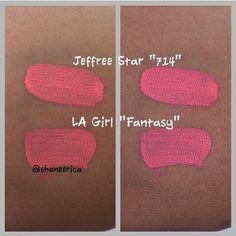 Jeffree Star 714 Velour Liquid Lipstick Dupes - All In The Blush Velour Liquid Lipstick, Lipstick Dupes, Lipstick Colors, Lip Colors, Lipsticks, Jeffree Star 714, Skincare Dupes, Drugstore Beauty, Make Up Dupes
