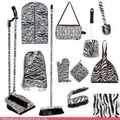 Zebra zebra zebra everywhere.