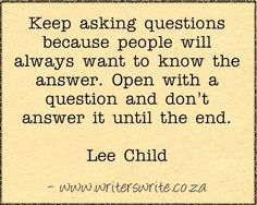 Quotable - Lee Child