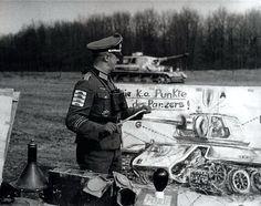 Leutnant Gerhard Konopka of Großdeutschland Division (holder of 4 Tank Destruction Badges) teaching NCOs about T-34 weak spots , Ukraine 1943 #polish #poland #wwii #military #history #insurgency #warsawuprising #militaryhistory #tank #warthunder #warsaw #ukraine #ussr #russia #wehrmacht #luftwaffe #kriegsmarine #ss #waffenss #award #medal #german #germany #deutsch #deutschland #camo #army #panzer #gerhard FOLLOW THE CREW @_grossdeutschland_ @armor.of.ww2 @ww2.germanstuff @german.ww2.his...