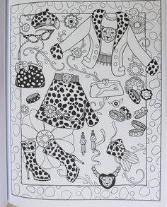Marjorie Sarnat's Fanciful Fashions: New York Times Bestselling Artists' Adult Coloring Books: Marjorie Sarnat: 9781510712560: Amazon.com: Books