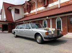 Rolls Royce Silver Spirit Limousine - ST.Barnabas Church ~ Bridal Car by RedOrca Rental Wedding Dresses, Dress Rental, Car Rental, Rolls Royce Silver Spirit, Bridal Car