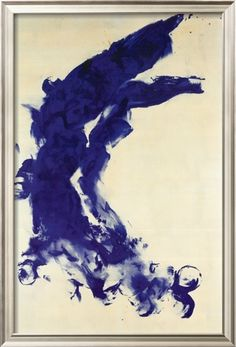 Anthropometrie (ANT 130), 1960 Print by Yves Klein at Art.com