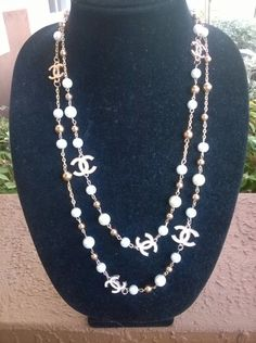 """Gorgeous 56"""" CHANEL Inspired Pearl Opera Necklace 