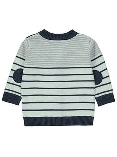 Stripe Knit Cardigan, read reviews and buy online at George at ASDA. Shop from our latest range in Baby. This casual stripe gem is the cutest way to keep the...