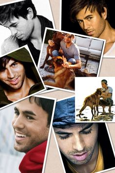 Enrique Iglesias collage