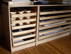 flat files - hacked from ikea parts