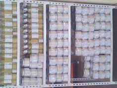 Detalle de la estantería del almacén dedicada a Ozono Vita SPA.