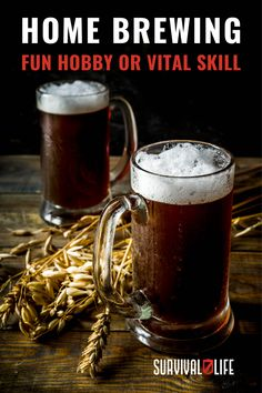 Beer is not just a fine tasting beverage enjoyed by many. As the third most consumed beverage in the world, it may come useful in times you didn't think it could. #homebrewing #homebrewedbeer #homemadebeer #beermaking #survivalskills #survival #preparedness #survivallife Survival Life, Survival Skills, Outdoor Shelters, Homemade Beer, How To Make Beer, Fun Hobbies, Emergency Preparedness, Home Brewing, Home Brewing Beer