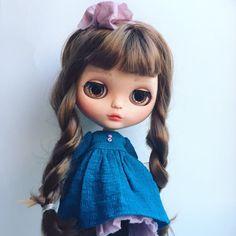 OOAK Custom Blythe doll Michelle by PrincessSheshez on Etsy
