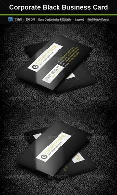 Tokyo luxe luxury concierge services a stunning black corporate black business card graphicriver include easy customizable and editable layered psd reheart Images