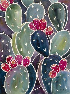 Riceverai tutti e 3 i disegni di questa serie! Decorare la vostra casa con questi divertenti prickly pear cactus acquerello immagini ispirati al ricco di colori e texture del deserto di Sonoran plantlife. Queste stampe sono 9 X12. Colori reali delle stampe possono essere diversi da