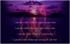 The Gift of the Silver Violet Flame Energy – Intl. Starseed Network