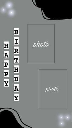 Happy Birthday Template, Happy Birthday Frame, Happy Birthday Posters, Birthday Posts, Iphone Instagram, Instagram And Snapchat, Instagram Blog, Birthday Captions Instagram, Birthday Post Instagram