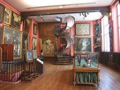 Musée Gustave Moreau. Visité le 10 juillet 2013.