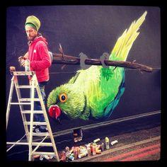 Camden, Graffiti, Street Art, British, England, App, London, Bird, Instagram Posts