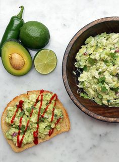Avocado Chicken Salad Toast