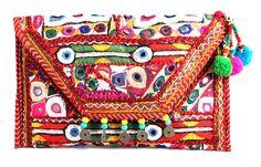 ASSORTED KUTCH EMBROIDERY FABRIC BAG . SNAP BUTTON CLOSING. INSIDE LINING & TOP ZIP CLOSING. INSIDE ONE SMALL ZIP POCKET .  #Buyhandbagsonline #HandmadeHandbags #Authenticdesignerhandbags #Womenswallets #Pursesonline #Handmadeitems #Styleincraft