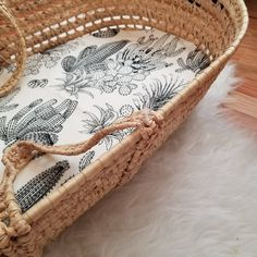 Fantastic baby arrival info are readily available on our site. Take a look and you wont be sorry you did. Boho Nursery, Girl Nursery, Nursery Decor, Floral Nursery, Nursery Ideas, Organic Cotton Sheets, Moses Basket, Mini Crib, Fantastic Baby
