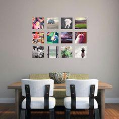 Custom Small Square Photo Personalized di SweetumsSignatures