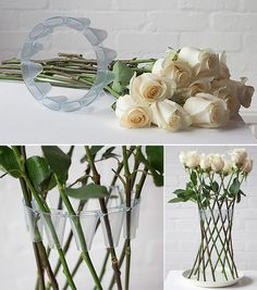 Gorgeous and simple. Definite potential for a centerpiece.