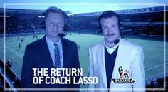 """Last year we met Ted Lasso, """"Head Coach"""" of Tottenham Hotspur. As a former football coach in America, he didn't quite understand British football (soccer) rules and was subsequently fired. But now he's back and we couldn't be happier!"""