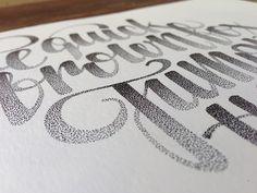 Inspiração Tipográfica #207