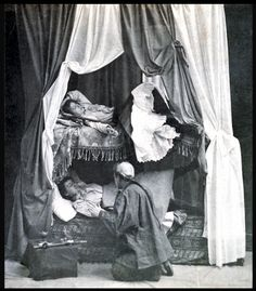 Women in an opium den, 1890.