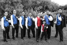 These super groomsmen are ready for action! July 2014. #StonebrookWeddings