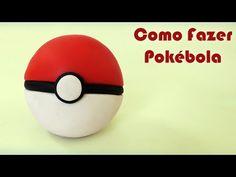 Faça uma POKÉBOLA de Pokémon - Tutorial Biscuit, Massinha Play Doh, Plastilina, Clay - DIY - YouTube Play Doh, Pokemon, Diy Clay, Biscuits, Youtube, Noodle, Tutorials, Diy, Play Dough