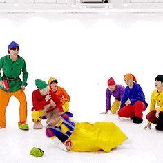 happy halloween from these dorks |  ❤️ [BANGTAN BOMB] '고민보다 GO (GOGO)' Dance Practice (Halloween ver.) - BTS (방탄소년단) ~❤️❤️