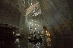 Salina Turda - Romania attractions - the salt mine