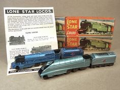 Lone Star Locos. My favourite cast-iron toy from the 1950s and early 60s.