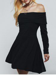 SHARE & Get it FREE | Slimming Off-The-Shoulder High Waist A-Line DressFor Fashion Lovers only:80,000+ Items • New Arrivals Daily • Affordable Casual to Chic for Every Occasion Join Sammydress: Get YOUR $50 NOW!