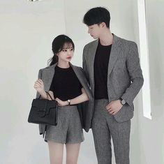 Pin by jeonjk on ; ulzzang ootd in 2019 matching couple outfits, fashion co Matching Couple Outfits, Matching Couples, Cute Couples, Teen Couples, Fashion Couple, Girl Fashion, Fashion Outfits, Fashion Fashion, Fashion Shoes