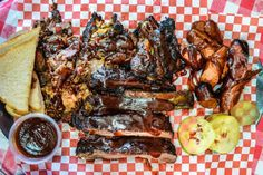 If our perception of summer was entirely based on Food Network specials, we'd all be entering barbecue contests and cooking meats on smokey grills,. Barbecue Restaurant, Yummy Food, Tasty, Cheesesteak, Places To Eat, Food Network Recipes, Chicken Wings, Grilling, Meat