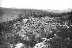 Altopiano di Bainsizza - Gli austriaci sono appostati nelle piccole caverne. - http://www.storiologia.it -