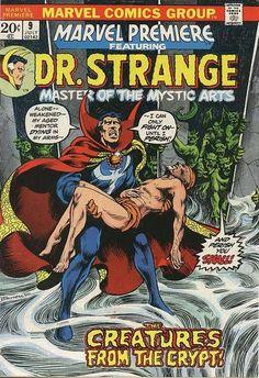 Marvel Premiere # 9 by Frank Brunner