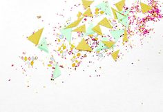 Learn how to make confetti with washi tape - you won't believe how easy it is!