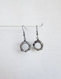Bicycle Jewelry ,  Ball Bearing Earrings , Bikes , Recycled Bicycle Jewelry , Bicycle Accessories ,