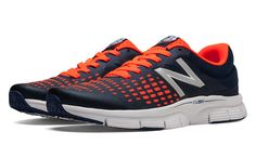competitive price 8ab5d da24e New Balance 775, Orange with Blue Neutral Running Shoes, New Balance Shoes