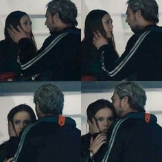 This is a very sweet moment  // Pietro and Wanda Maximoff  - Avengers: Age of Ultron - Marvel