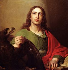 Vladímir Borovikovski (1757-1825): San Juan evangelista.