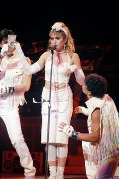 Madonna Style Evolution  April 1985
