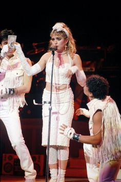 Madonna Style Evolution April 1985