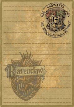 Ravenclaw Stationery by Sinome-Rae on DeviantArt Carte Harry Potter, Bijoux Harry Potter, Harry Potter Planner, Harry Potter Fiesta, Deco Harry Potter, Harry Potter Classroom, Harry Potter Printables, Theme Harry Potter, Harry Potter Birthday