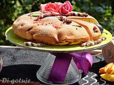 Di gotuje: Ciasto jogurtowo-śliwkowe z patelni (bez pieczenia...
