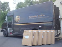 HTS Systems orders of 1-10 units are shipped parcel delivery using UPS Ground, FedEx Express, DHL, TNT or FedEx Ground. HTS order 10-15 are palletized and shipped common carrier freight, using YRC (Yellow- Roadway) Estes Express Lines, Conway Freight, UPS Freight, LnR Carriers, Ward Trucking or ABF Freight System.