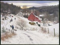 December In The Country   Robert Duncan  Just Beautiful!